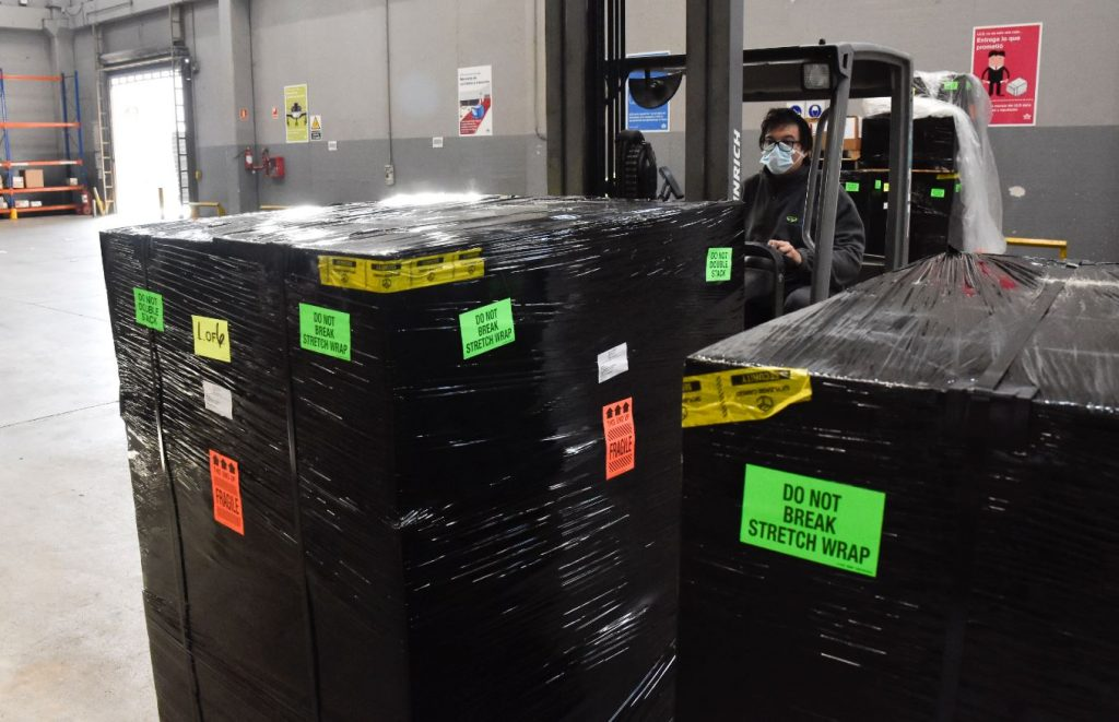 TCU - Hub regional de distribución de material de protección sanitaria